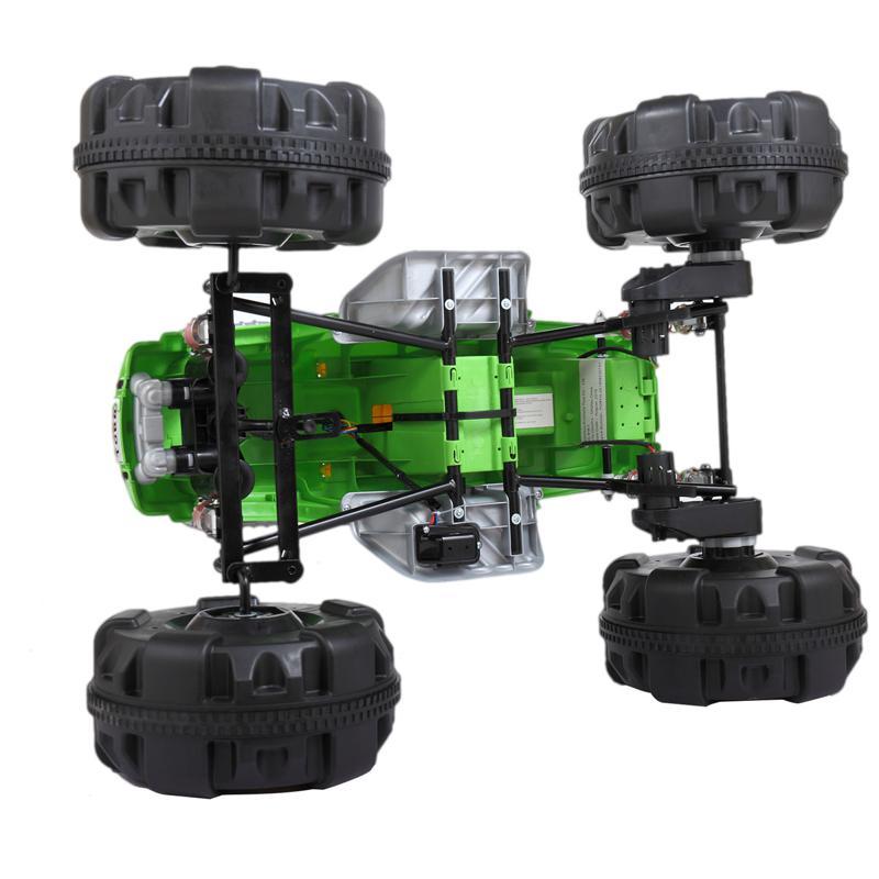 12V Ride On Electric Quad For Kids, Green ride on car atv 4 wheel shock beach vehicle green 11 1