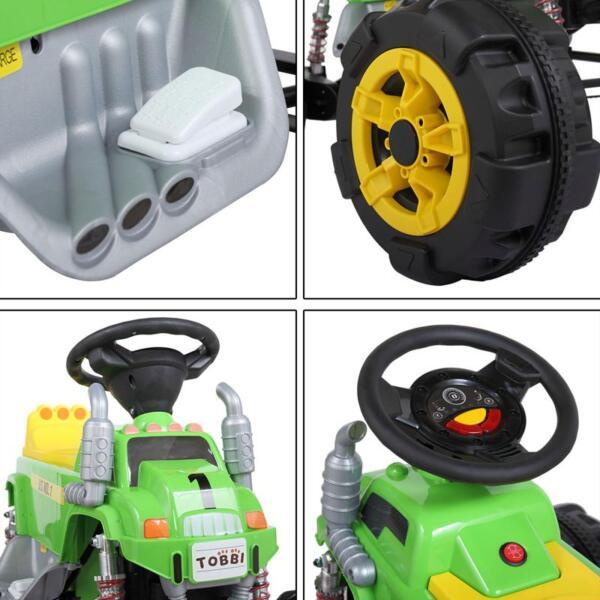 Ride On Car ATV 4 Wheel Shock Beach Vehicle, Green ride on car atv 4 wheel shock beach vehicle green 12