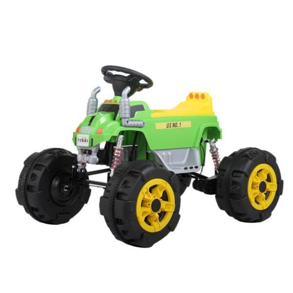 Ride On Car ATV 4 Wheel Shock Beach Vehicle, Green ride on car atv 4 wheel shock beach vehicle green 30