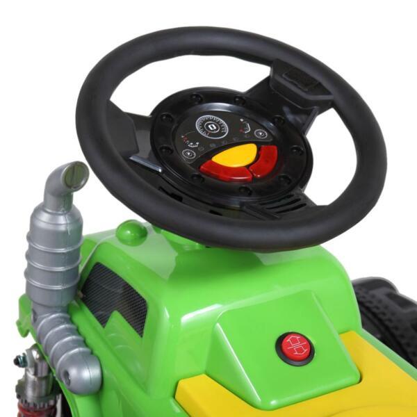 Ride On Car ATV 4 Wheel Shock Beach Vehicle, Green ride on car atv 4 wheel shock beach vehicle green 4