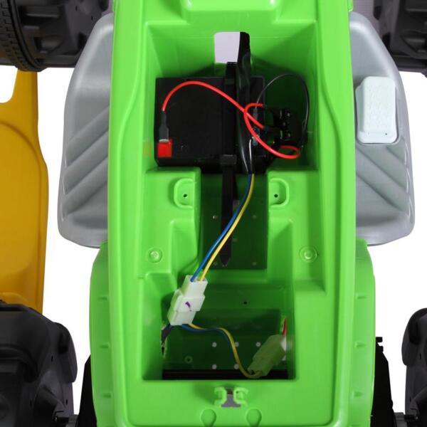 Ride On Car ATV 4 Wheel Shock Beach Vehicle, Green ride on car atv 4 wheel shock beach vehicle green 7
