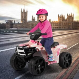 Home ride on car atv 4 wheels battery powered 14 kids electric cars