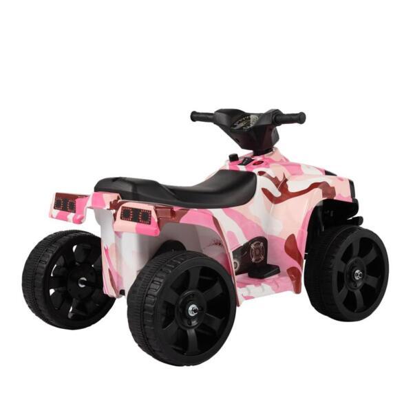12V Electric Ride On Kids ATV, Pink ride on car atv 4 wheels battery powered 18