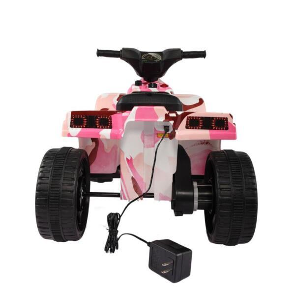 12V Electric Ride On Kids ATV, Pink ride on car atv 4 wheels battery powered 22