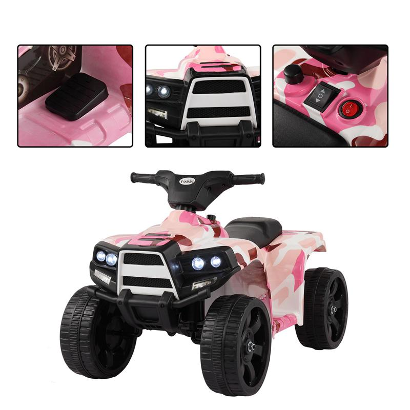 the speed of 24v ride on car is suitable for older kids