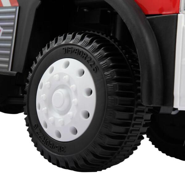 Ride On Fire Truck Car 6V Vehicle for Kids, Red ride on fire truck car 6v vehicle for kids red 10