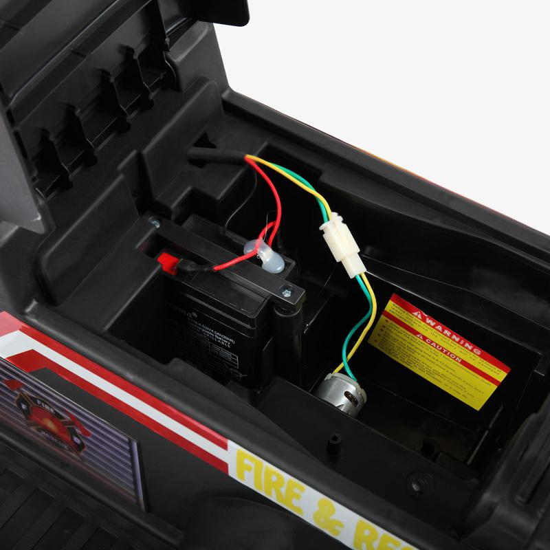 battery may be the source of ride on car pedal issues