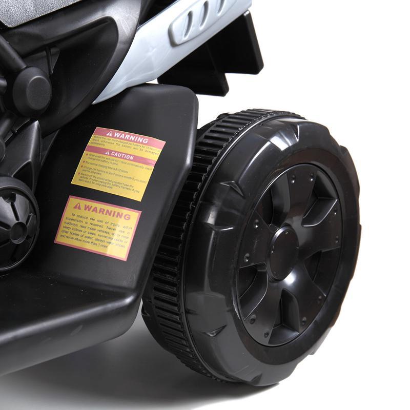 6V Battery Power Ride On Motorcycle for Kids, Blue ride on motorcycle 6v battery power bicycle for kids blue 18 1