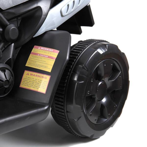 6V Battery Power Ride On Motorcycle for Kids, Blue ride on motorcycle 6v battery power bicycle for kids blue 18