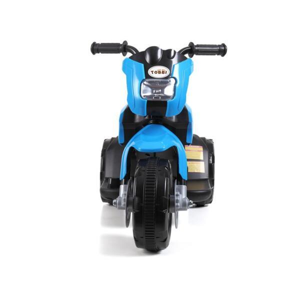 6V Battery Power Ride On Motorcycle for Kids, Blue ride on motorcycle 6v battery power bicycle for kids blue 3