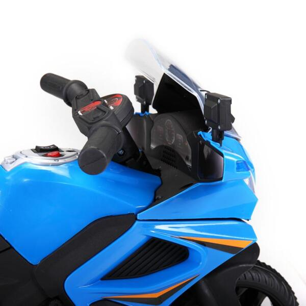 6V Ride On Police Motorcycle for 4 Years, Blue ride on police motorcycle for 2 4 years yellow 14