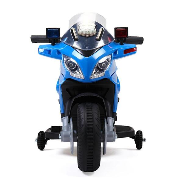 6V Ride On Police Motorcycle for 4 Years, Blue ride on police motorcycle for 2 4 years yellow 2