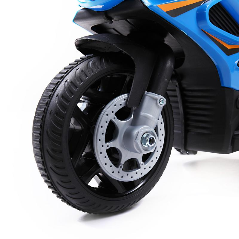 6V Ride On Police Motorcycle for 4 Years, Blue ride on police motorcycle for 2 4 years yellow 3