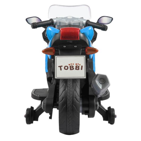 Ride On Toy Racing Motorcycle for Kids, Blue ride on toy racing motorcycle for kids blue 12
