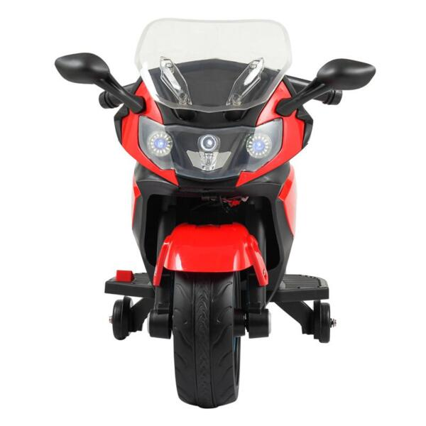 Electric Ride On Motorcycle Toy for Kids, Red ride on toy racing motorcycle for kids red 13