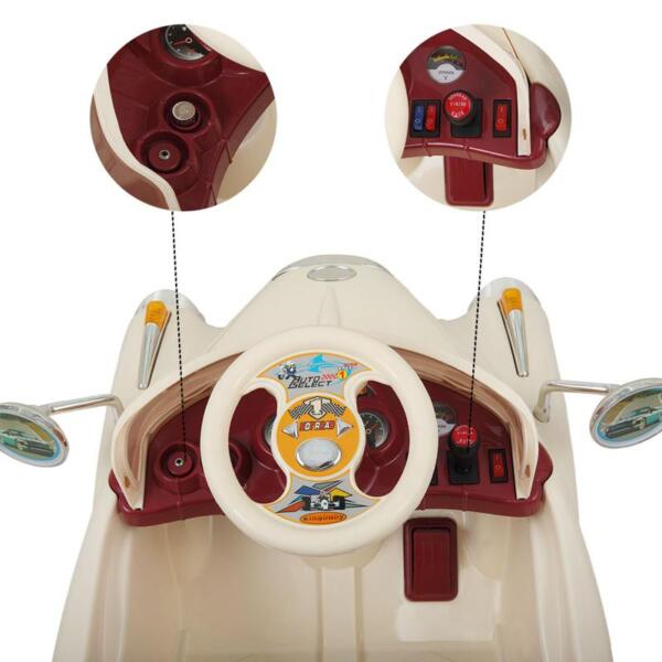 Rome Contral Ride On Car, Beige rome contral ride on car beige 20
