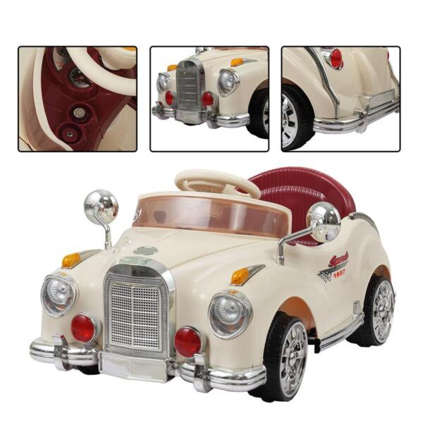 Rome Contral Ride On Car, Beige rome contral ride on car beige 21
