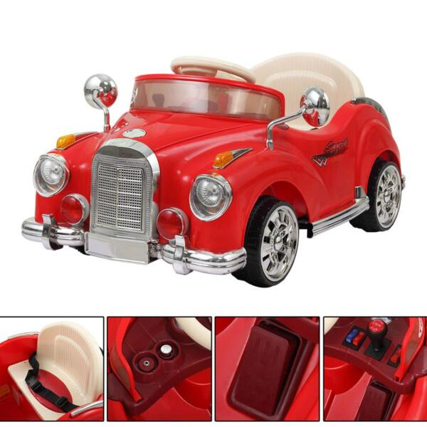 Rome Contral Ride On Car, Red rome contral ride on car red 10