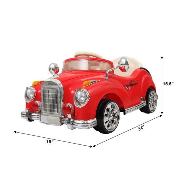 Rome Contral Ride On Car, Red rome contral ride on car red 22