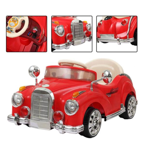 Rome Contral Ride On Car, Red rome contral ride on car red 3