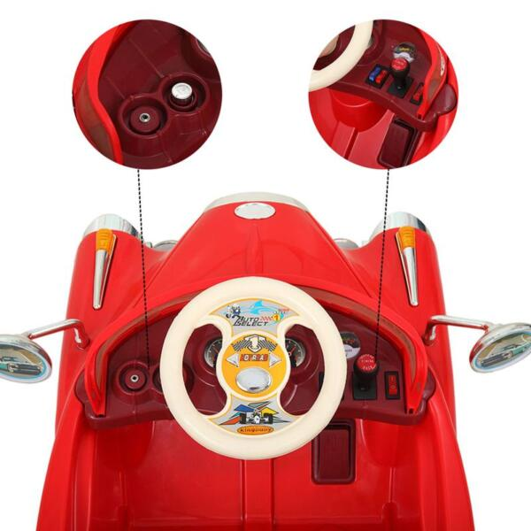 Rome Contral Ride On Car, Red rome contral ride on car red 5