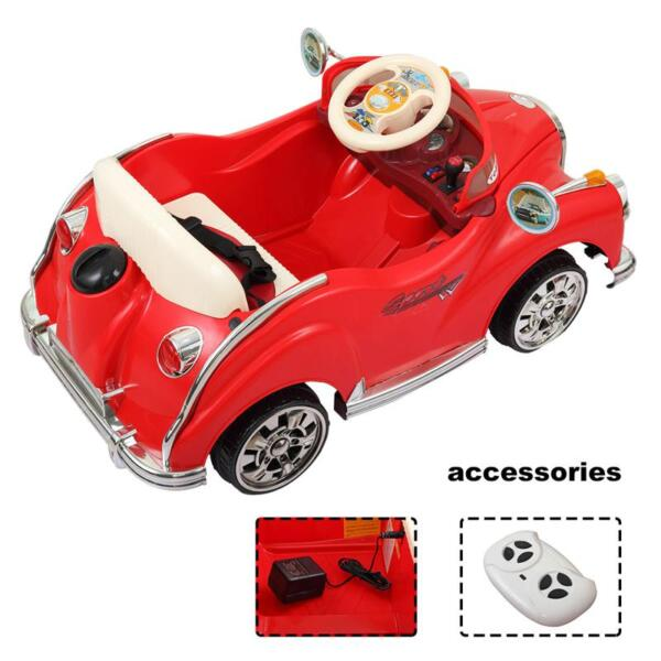 Rome Contral Ride On Car, Red rome contral ride on car red 8