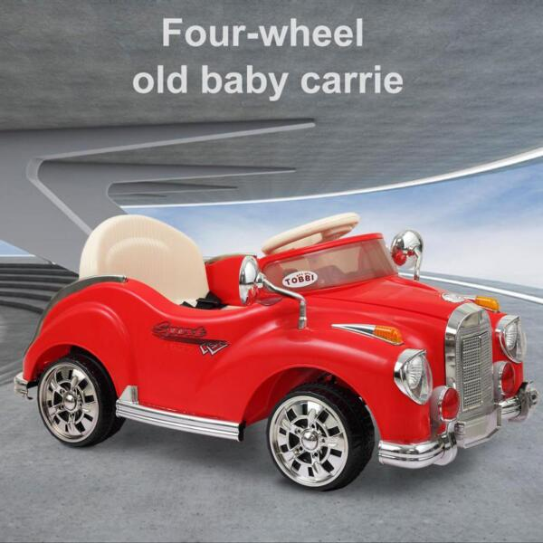 Rome Contral Ride On Car, Red rome contral ride on car red 9