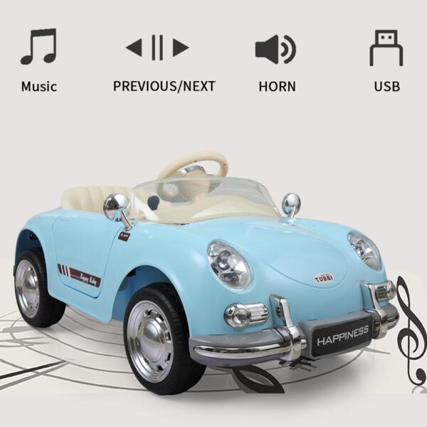 Romote Control Kids Ride on Car Licensed, Light Blue romote contral kids ride on car licensed white 44