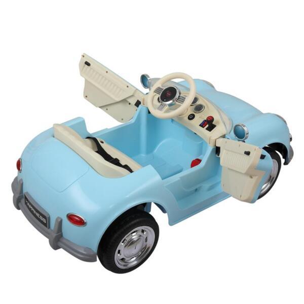 Romote Control Kids Ride on Car Licensed, Light Blue romote contral kids ride on car licensed white 6 1