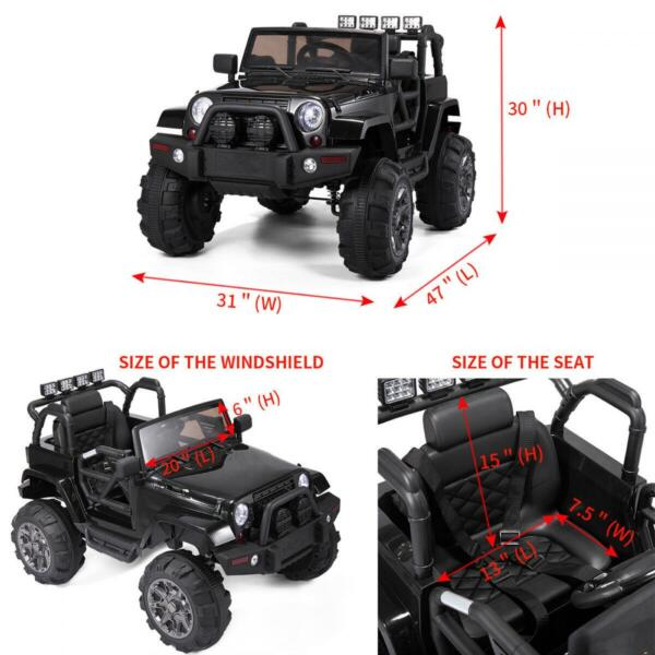 Kid's Truck Toy Ride on Jeep with Remote Control s l1600 1 237 1