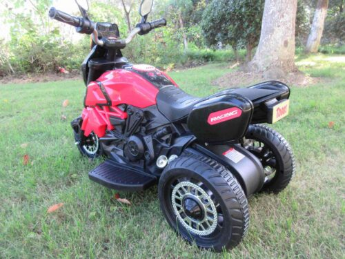 3 Wheel Motorcycle for Kids, Red photo review