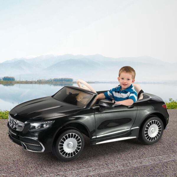 12V Mercedes Kids Ride on Car with Remote Conrtol, Black th17f0430 cj3