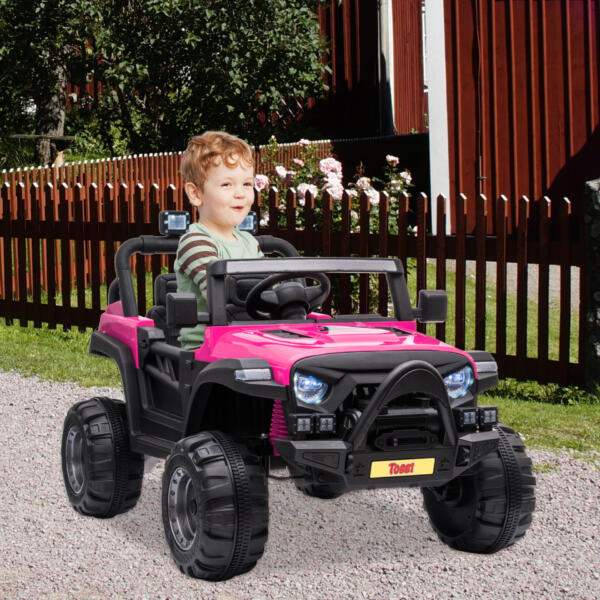RC Toy Trucks for Kids 2 Seater Ride On Car th17f0628 cj 6