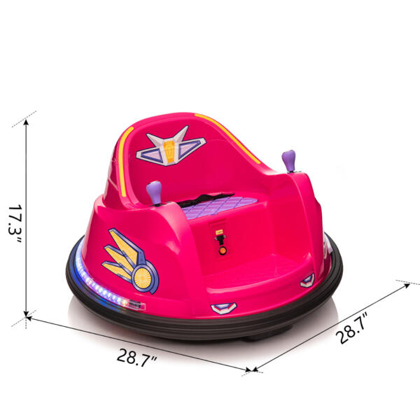 6V Kids Ride on Bumper Car Electric Rechargeable Vehicle Toy th17k0865 cct