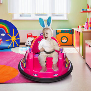 pink ride on bumper car is an amazing gift for your girls