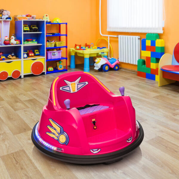 6V Kids Ride on Bumper Car Electric Rechargeable Vehicle Toy th17k0865 cj3
