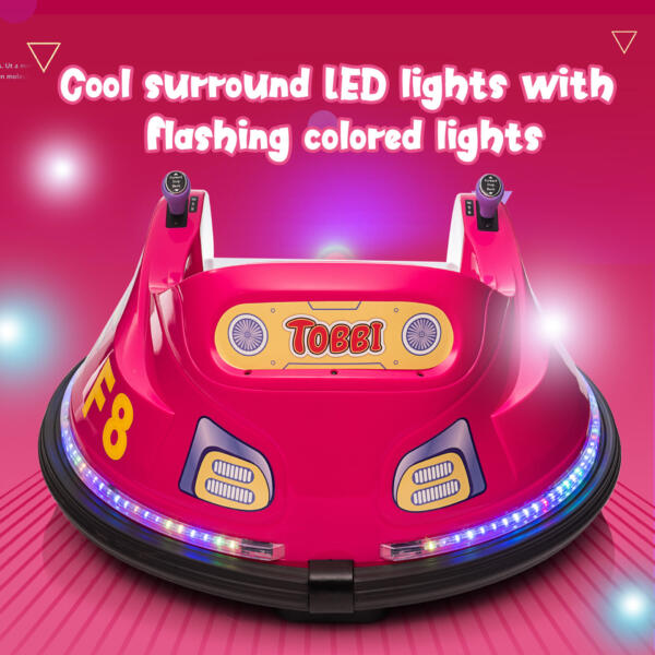 6V Kids Ride on Bumper Car Electric Rechargeable Vehicle Toy th17k0865 zt1