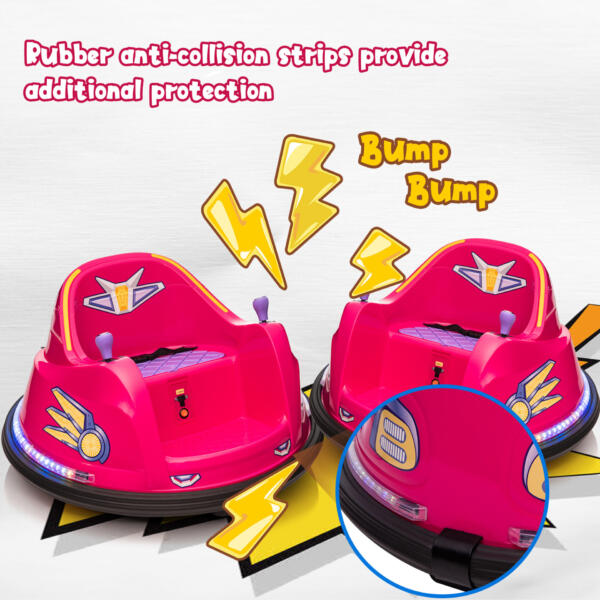 6V Kids Ride on Bumper Car Electric Rechargeable Vehicle Toy th17k0865 zt2