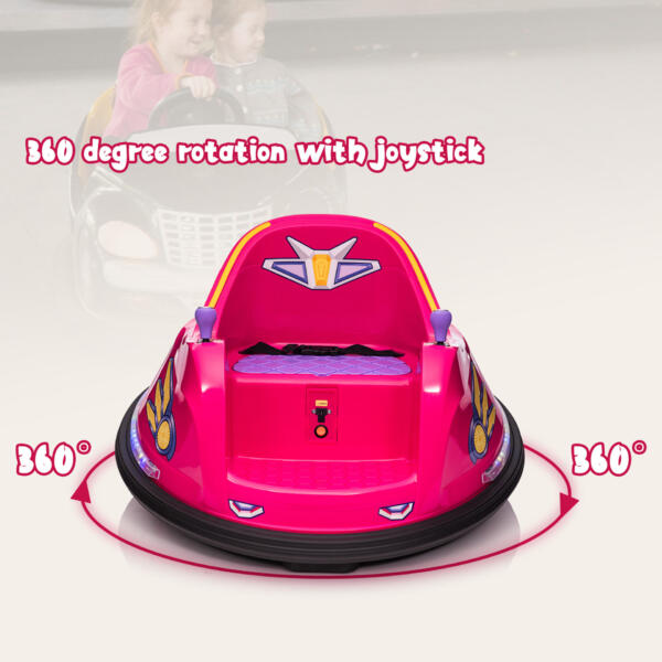 6V Kids Ride on Bumper Car Electric Rechargeable Vehicle Toy th17k0865 zt3