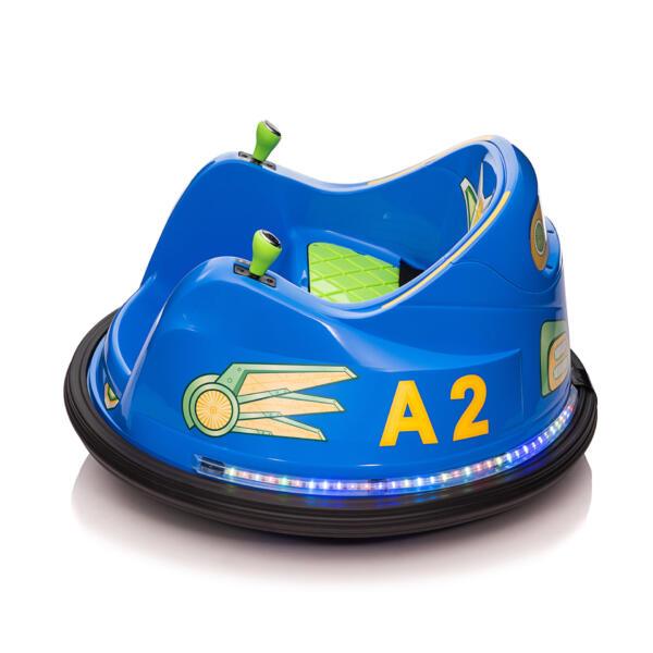 6V Electric Bumper Car for Kids w/ 360 Spin th17l0866 3