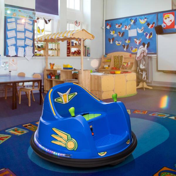 6V Electric Bumper Car for Kids w/ 360 Spin th17l0866 cj3