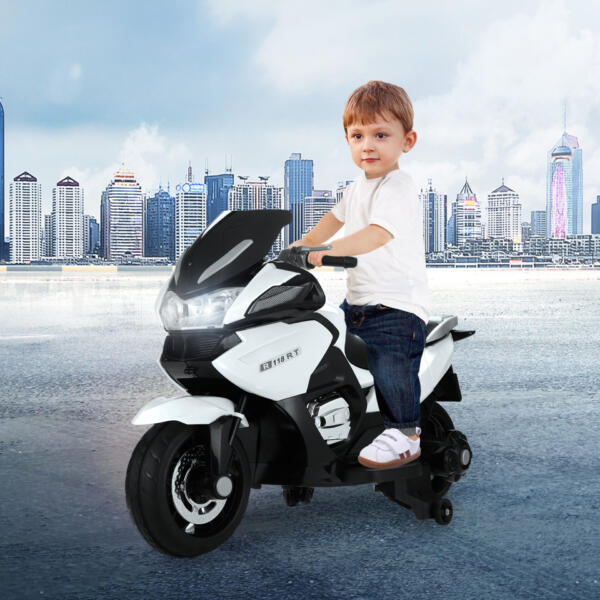 12V Large Kids Ride on Battery Powered Motorcycle th17p0545 cj 2
