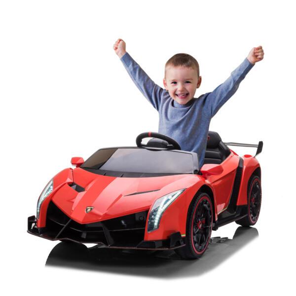 12V Lamborghini Ride On Car With Remote Control 2 Seater, Red th17p076115
