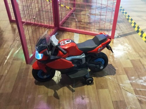 Electric Ride On Motorcycle Toy for Kids, Red photo review