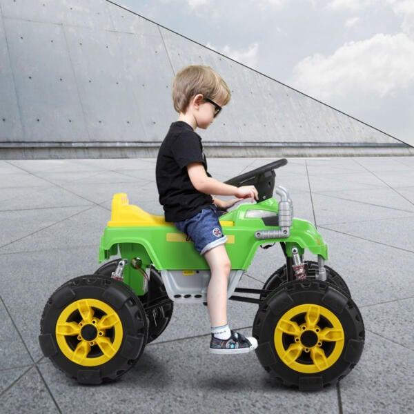 12V Ride On Electric Quad For Kids, Green th17u0441 25