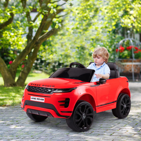 12V Land Rover Kids Power Wheels Ride On Toys With Remote, Red th17u0621