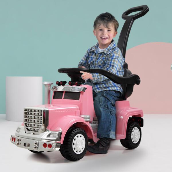 Toddler Push Car Kids Electric Ride-on Car, Pink th17w0370 21