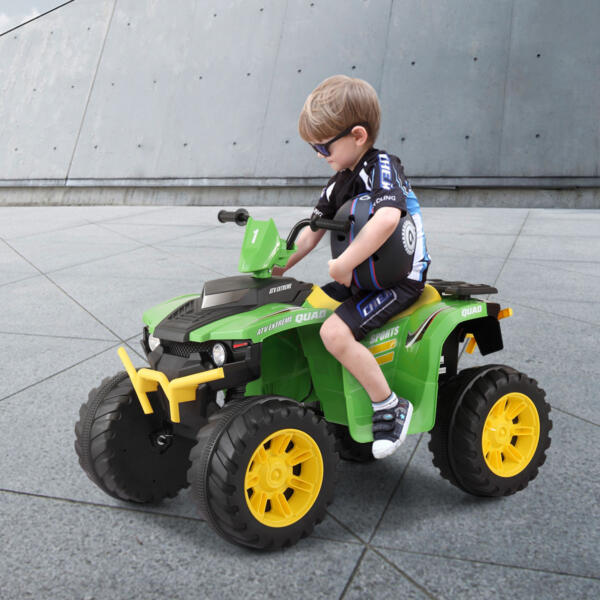 12V Battery Powered Kids Atv Ride On, Green th17y0426 33