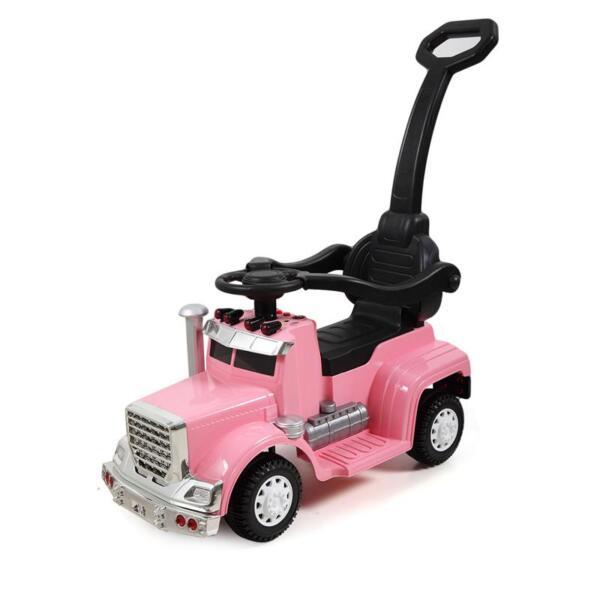 Toddler Push Car Kids Electric Ride-on Car, Pink toddler push car kids electric ride on car pink 14