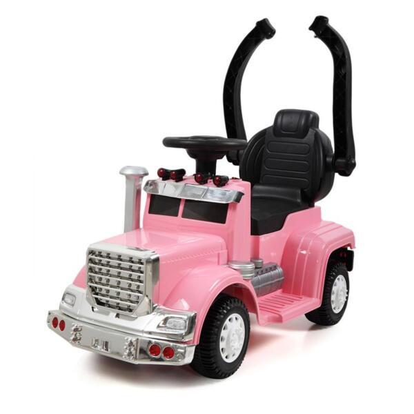 Toddler Push Car Kids Electric Ride-on Car, Pink toddler push car kids electric ride on car pink 16